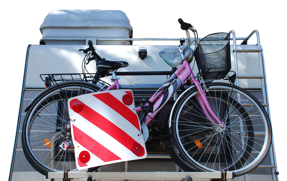 Bike Rack for Motorhome Hire